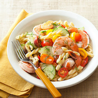 Shrimp, Lemon & Gemelli Party Pasta Salad