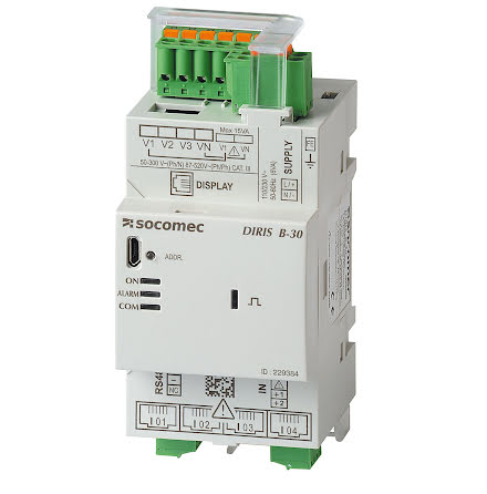 Multifunction meter,  Modbus communication. DIRIS B-30 RS485