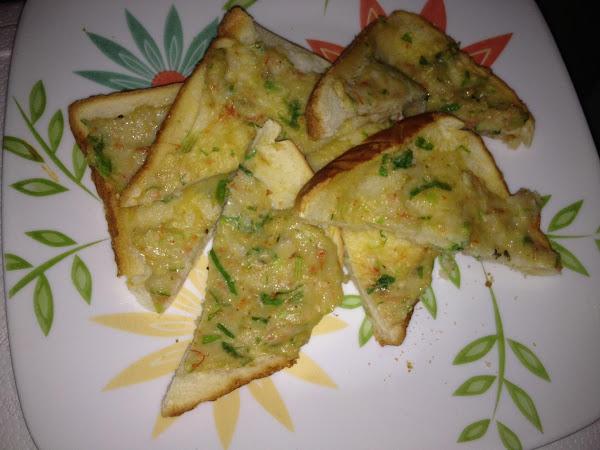 Baked Shrimp Toast Recipe