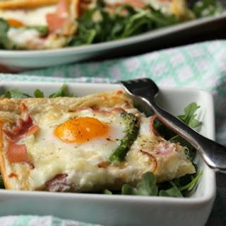 Puff Pastry Egg Tart {Brunch Recipe}.