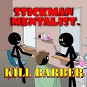 Stickman Kill Barber icon