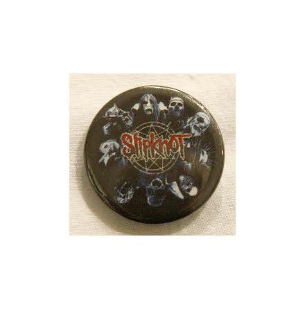 Slipknot - Masker - Badge