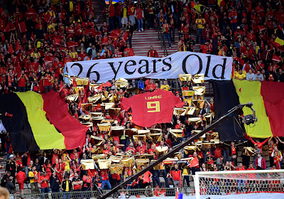 "Fans ondernemen een verzoeningspoging met Romelu Lukaku: ""26 years old, already a legend"""