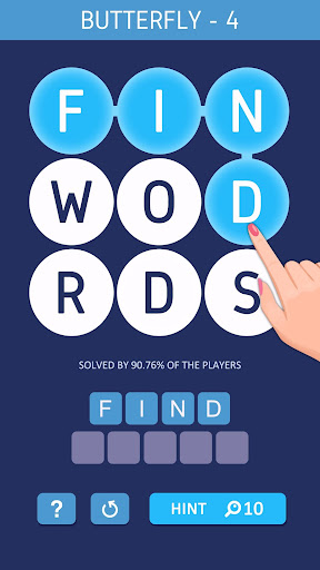 Word Spark - Smart Training Game  captures d'écran 1