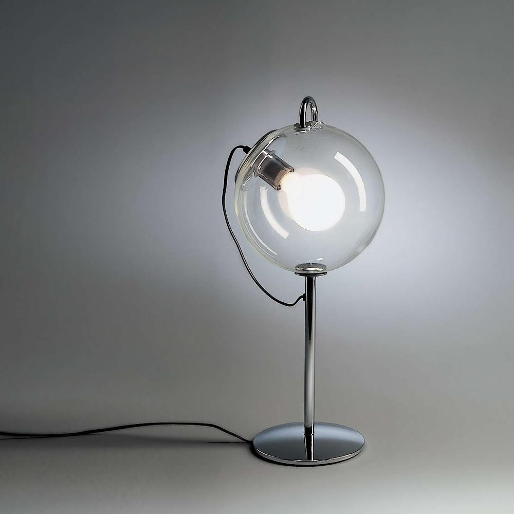 BUBBLE GLASS MICONOS TABLE LAMP | DESIGNER REPRODUCTION