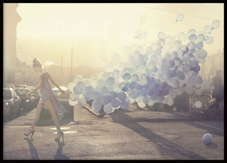Fashion Balloons, Poster