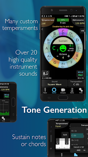 Screenshot for TonalEnergy Tuner and Metronome in United States Play Store