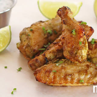 Jalapeño-Lime Chicken Wings with Paleo Ranch Dressing from Meatified.