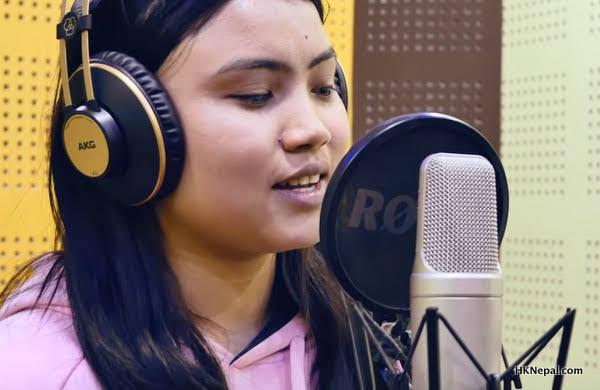 गायिका पूर्णिमा लामाले पहिलो पटक गाईन् पूर्वेली भाकाको गीत