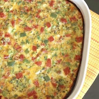 Farmers' Market Overnight Breakfast Egg Casserole Recipe