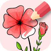Flowers Coloring Game