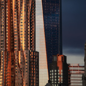 Lower Manhattan by VAM Photography - Buildings & Architecture Other Exteriors ( places, lower manhattan, new york, architecture )