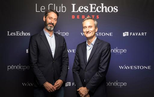 Club Les Echos Débats avec Sébastien Badault, Directeur général France d'Alibaba Group - Wavestone