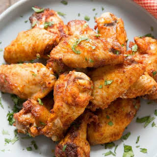 Dry Rub Chicken Wing.
