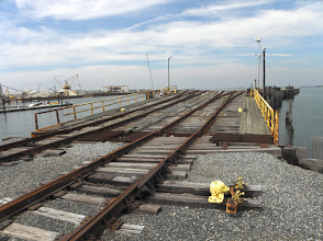 Photo: The railroad made Cape Charles a happening place.