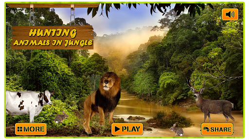 Hunting Animals in Jungle