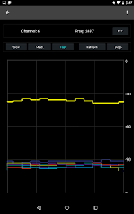 WiFi Channel Analyzer- screenshot thumbnail