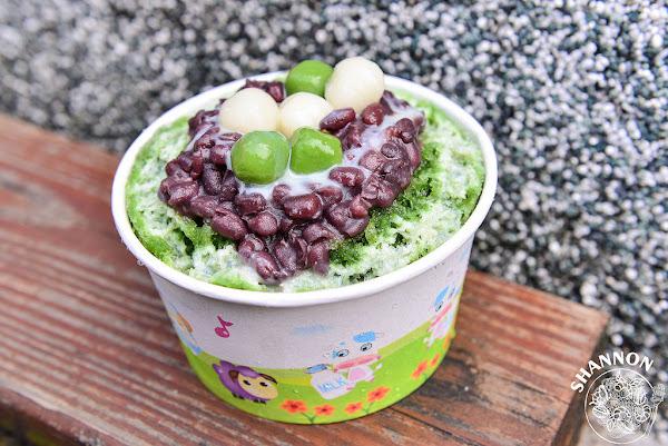 苗栗[南庄抹茶冰]平價又還蠻不錯吃的抹茶冰