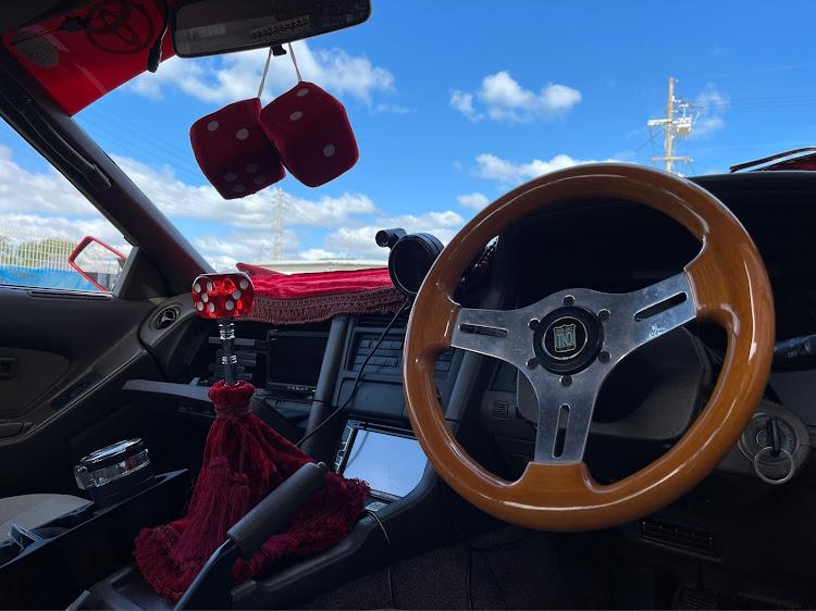 ソアラ GZ20の街道レーサー,改造車,シフトノブ交換,サイコロ,当時物に関するカスタム&メンテナンスの投稿画像1枚目