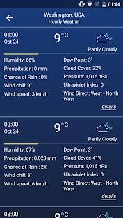 Weather forecast Aplicaciones (apk) descarga gratuita para Android/PC/Windows screenshot