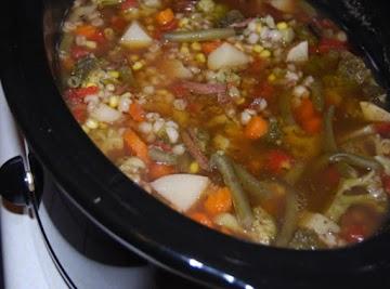 French Dip Barley Soup Recipe