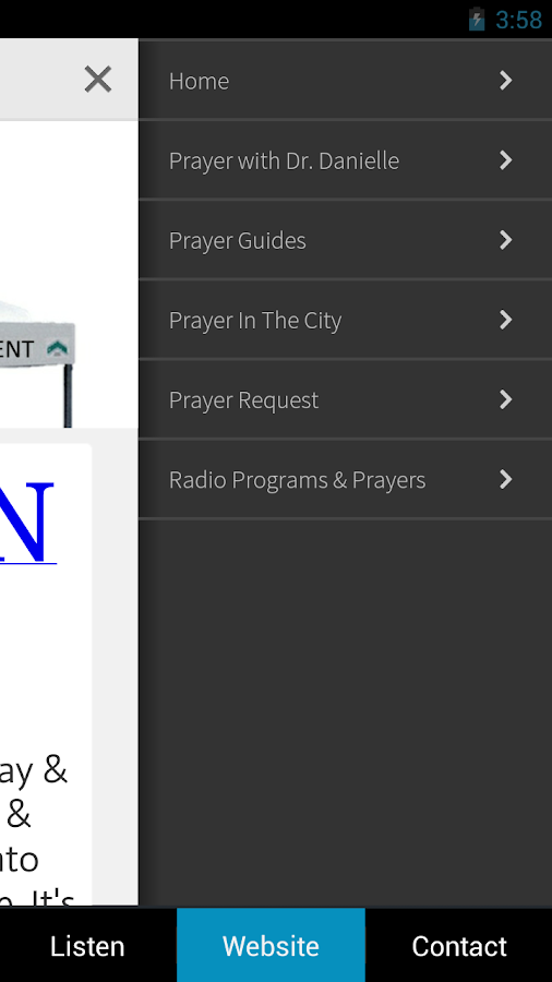 Power of Prayer Radio- screenshot