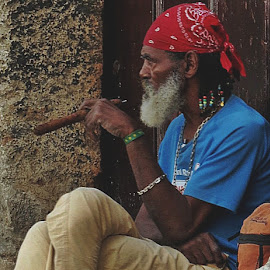 HAVANA by Gary Colwell - People Portraits of Men (  )