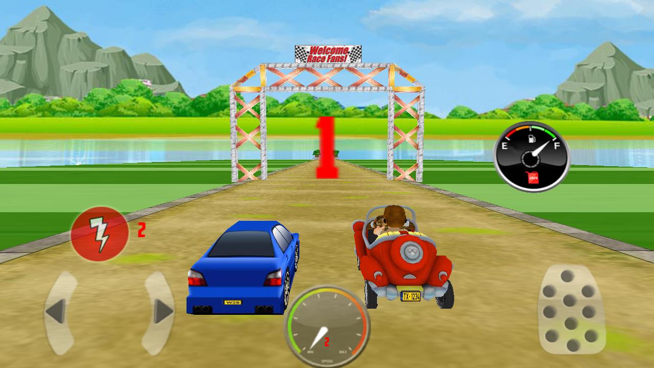 Bheem Car Racing Game