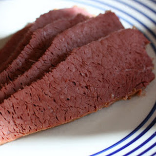Dijon Corned Beef in the Slow Cooker.