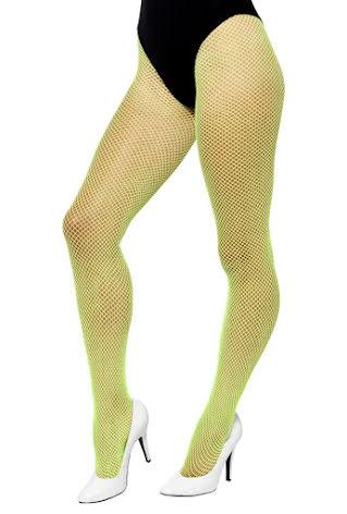 Strumpbyxa nät, neon grön