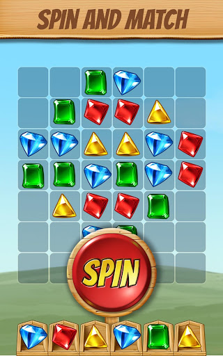 Cascade: Spin & Match Gem Puzzle App screenshot 1