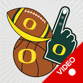 Oregon Ducks Animated Selfie Stickers