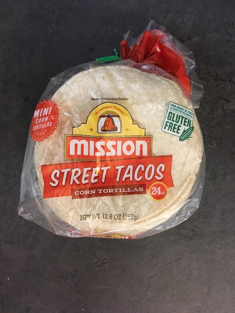 Street Tacos Corn Tortillas