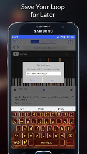 Loop2Learn - Loop Videos from YouTube  screenshots 5