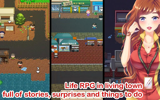 Citampi Stories: Offline Love and Life Sim RPG 1.68.8r screenshots 1