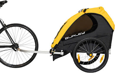Burley Bee Child Trailer - Yellow alternate image 0