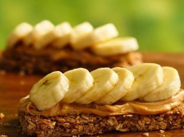 Peanut Butter And Banana Campfire Canape' Recipe