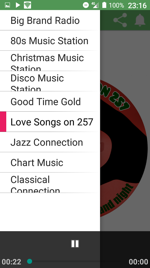 Big Brand Internet Radio- screenshot