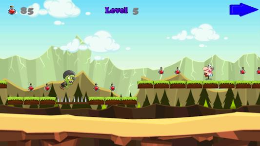 Angry Zombie Run screenshot 3