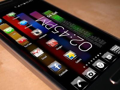 Glass  NOVA/APEX/ADW Theme HD v1.7