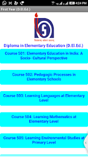 Diploma in Elementary Education (D.El.Ed.)- screenshot thumbnail