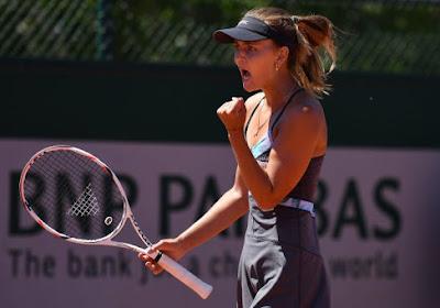 Ook de tot dusver moeilijkste match overleefd: Maryna Zanevska kan voor toernooizege spelen in Polen