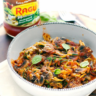 Zucchini Noodles With Ragu