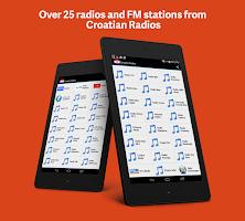 Screenshot of Croatian Radios