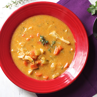 Hearty Chicken Pumpkin Soup