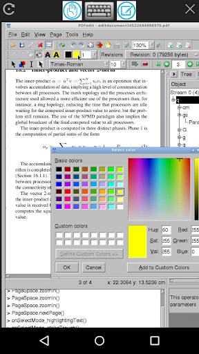 MaxiPDF PDF editor & builder screenshots 9