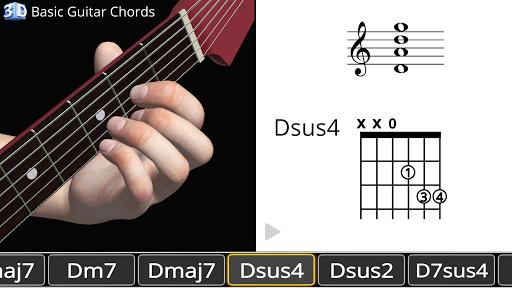 Guitar 3D - Basic Chords  screenshots 9