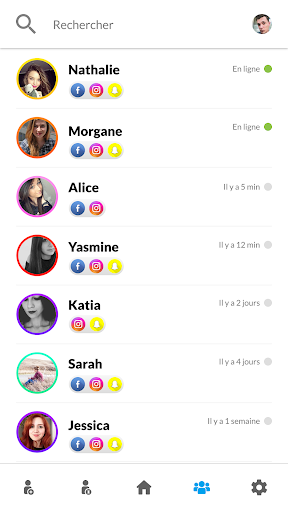 FindMe - Find nearby friends 2.7 screenshots 6