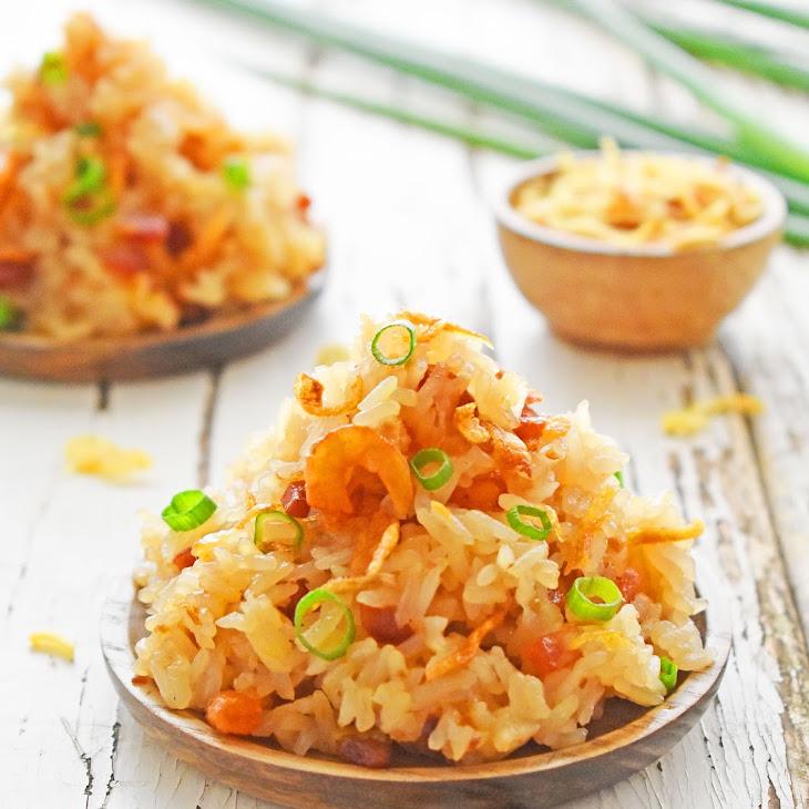 My Lazy Savoury Sticky Rice – Xoi Man – No Mi Fan