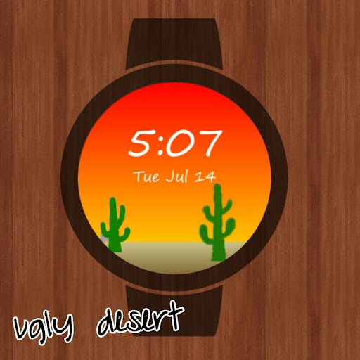 WobbleWatches Ugly Desert